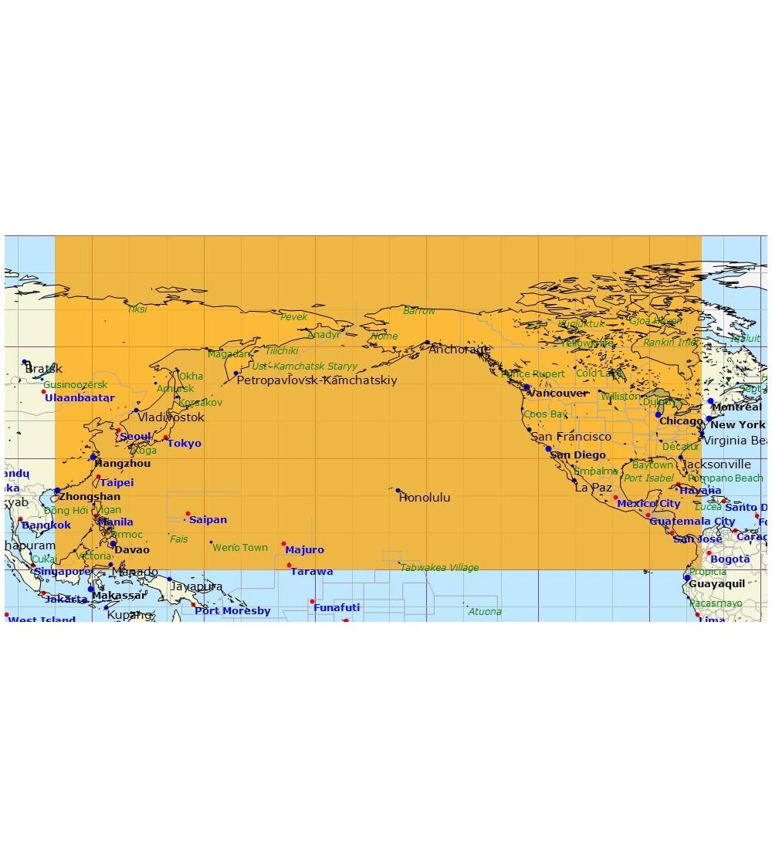 Oceanic Pacifique Nord