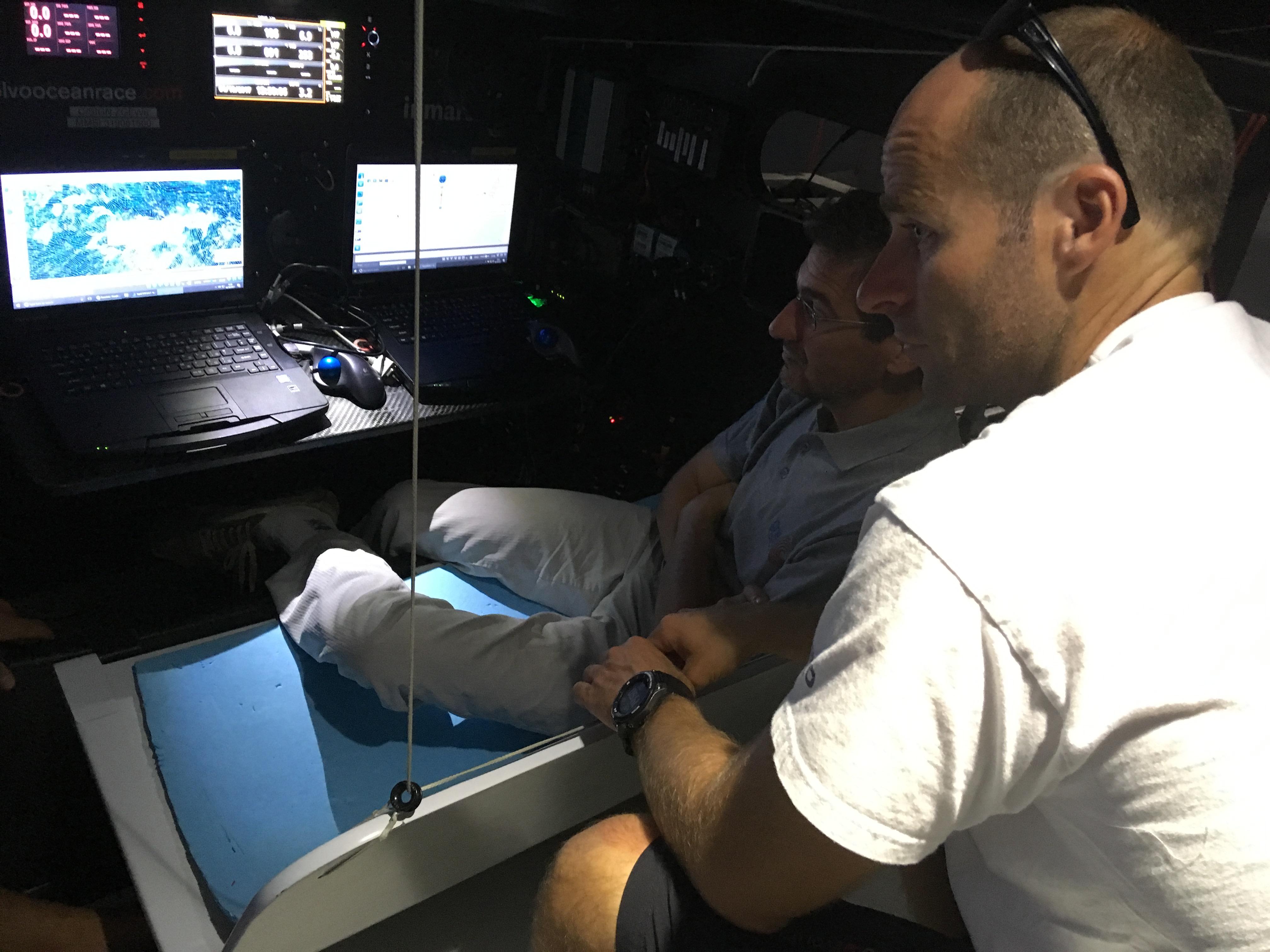 SQUID on board VOR65